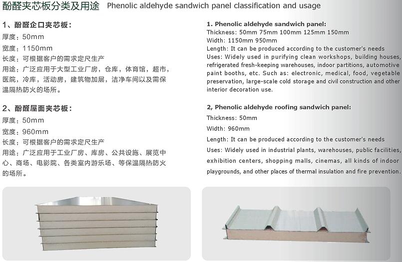 Phenolic aldehyde sandwich panel_Foshan Desuman Building ...